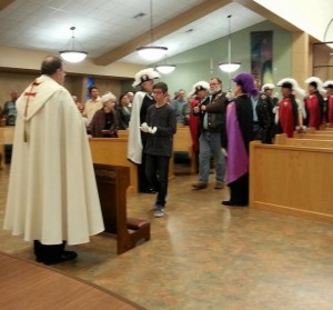 Reception of Silver Rose at St. Francis-Nov 19
